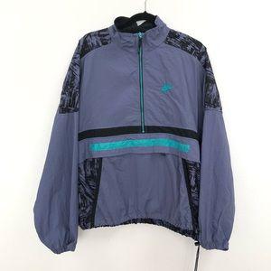 Nike vintage style track anorak jacket windbreaker